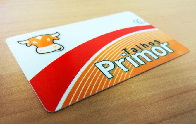 Talhos Primor - Cartão de Cliente